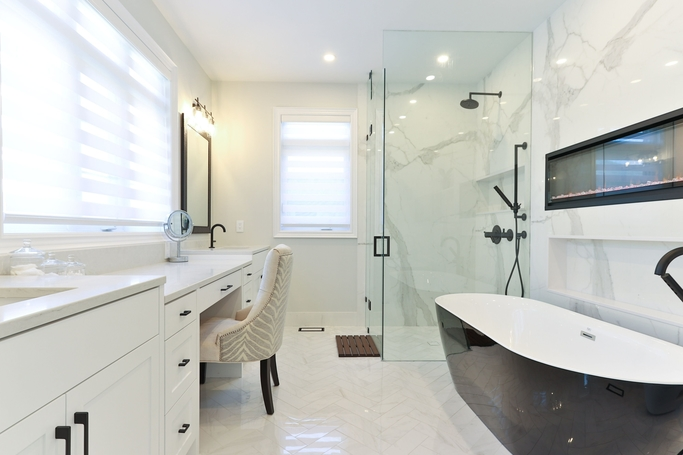 See the shower repair job we completed in Echuca. This photo was taken last year of December. Visit us at  www.Echucatiling.com.au for more of our tiling photos.